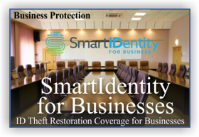 SmartIDentity identity theft restoration for businesses and employees