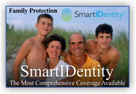 SmartIDentity identity theft recovery protection for your family